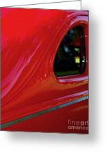 1940 Ford Coupe Side Window Greeting Card