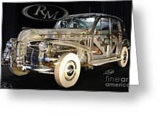 1940 Pontiac Transparent Greeting Card