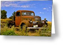 1940's Chevy Truck 2 Greeting Card