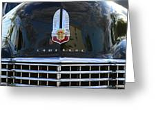 1941 Cadillac Grill Greeting Card