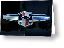 1942 Chevrolet Emblem Greeting Card