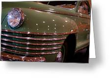 1942 Chrysler Royal Business Coupe Greeting Card