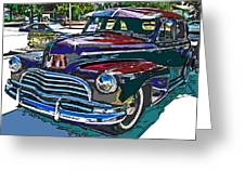1946 Chevrolet Greeting Card