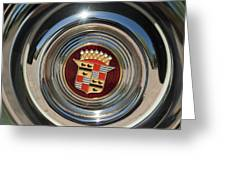 1947 Cadillac Emblem 2 Greeting Card