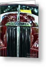 1947 Studebaker Grill Greeting Card