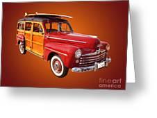 1947 Woody Greeting Card