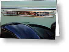 1948 Diamond T Truck Emblem 2 Greeting Card