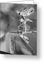 1948 Rolls-royce Hood Ornament 2 Greeting Card