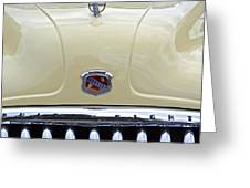 1949 Buick Super 8 Grill  Greeting Card