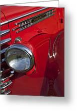 1949 Diamond T Truck Emblem Greeting Card