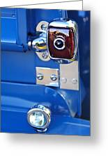 1950 Chevrolet 3100 Pickup Truck Taillight Greeting Card