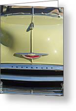 1950 Chevrolet Fleetline Grille 2 Greeting Card