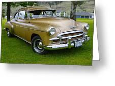 1950 Chevrolet Greeting Card