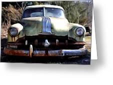 1950 Pontiac  Greeting Card