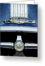 1950 Pontiac Grille Emblem Greeting Card
