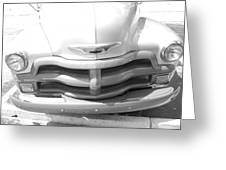 1950's Chevy Greeting Card