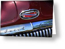 1951 Buick Eight Greeting Card
