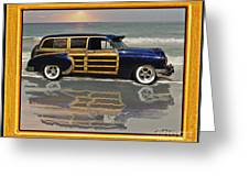 1951 Chevy Sedan Delivery Greeting Card
