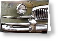 1951 Nash Ambassador  Greeting Card