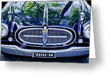 1952 Ferrari 212 Vignale Front End Greeting Card