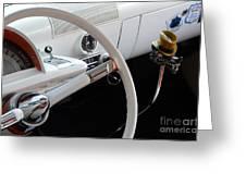 1952 Mercury Interior Greeting Card