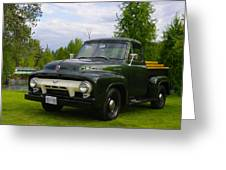 1953 Ford F-100 Greeting Card