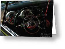 1953 Mercury Monterey Dash Greeting Card