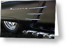 1953 Mercury Monterey Greeting Card