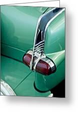 1953 Packard Caribbean Convertible Taillight Greeting Card