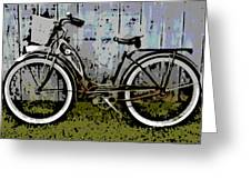 1953 Schwinn Bicycle Greeting Card