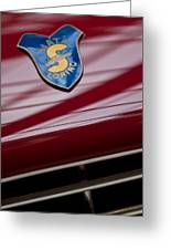 1953 Siata 208s Spyder Emblem Greeting Card