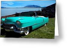 1954 Cadillac Convertible Greeting Card