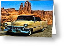 1954 Cadillac Coupe Deville Greeting Card by Tim McCullough