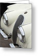 1954 Jaguar Xk120 Roadster Grille Greeting Card
