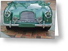 1955 Aston Martin Greeting Card