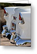 1955 Chevrolet 210 Taillights Greeting Card