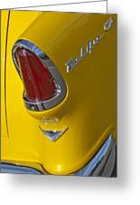 1955 Chevrolet Nomad Taillight Greeting Card