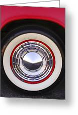 1955 Chevrolet Nomad Wheel Greeting Card