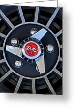 1955 Chevrolet Truck Wheel Rim Greeting Card