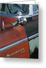 1955 Chrysler Windsor Deluxe Emblem Greeting Card
