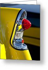 1956 Chevrolet Belair Taillight Greeting Card