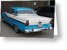 1956 Ford Fairlane Greeting Card