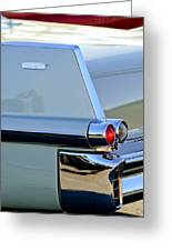 1957 Cadillac Taillight Greeting Card