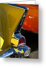 1957 Chevrolet Taillight Greeting Card