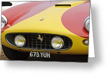 1957 Ferrari 250 Gt Lwb Scaglietti Berlinetta Greeting Card