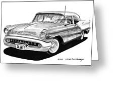 Oldsmobile Super 88 Greeting Card