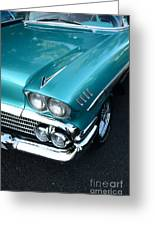 1958 Chevy Belair Front End 01 Greeting Card