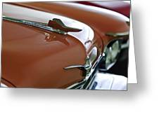 1958 Chrysler Imperial Hood Ornament Greeting Card