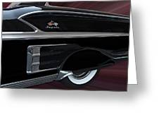 1958 Impala Greeting Card