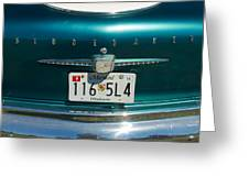 1958 Studebaker Greeting Card